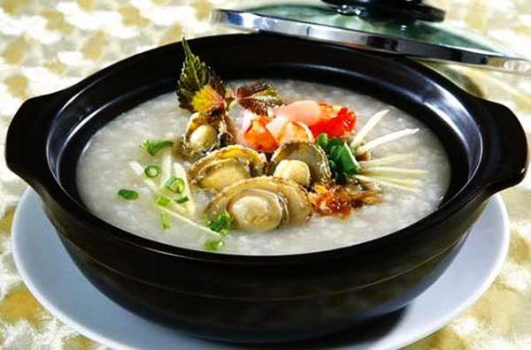 Các món ngon từ bào ngư - cháo bào ngư